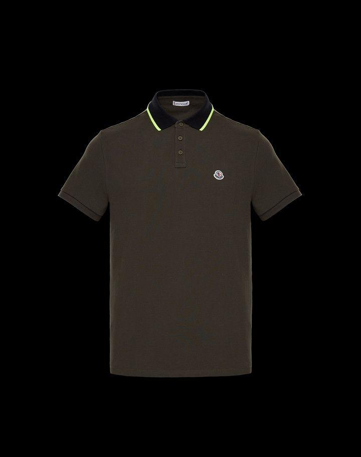 468fbec3 MONCLER POLO - Polo shirts - men   amr   Polo, Shirts, Polo Shirt