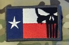 Chris Kyle Seal Team 3 | Chris Kyle Punisher Full Colour TEXAS FLAG Patch, NAVY SEALS, Team 3