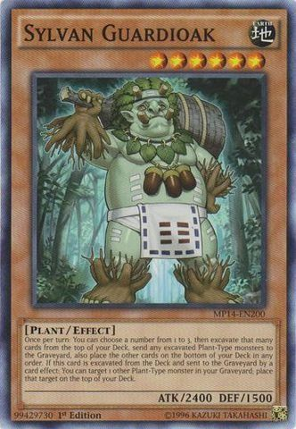 Yu-Gi-Oh! - Sylvan Guardioak (MP14-EN200) - Mega Pack 2014 - 1st Edition - Common * This is an Amazon Affiliate link. You can find more details by visiting the image link.
