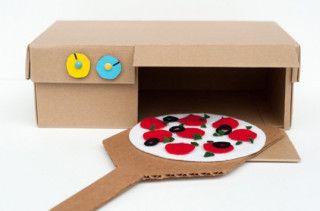 DIY Shoebox Pizza Oven