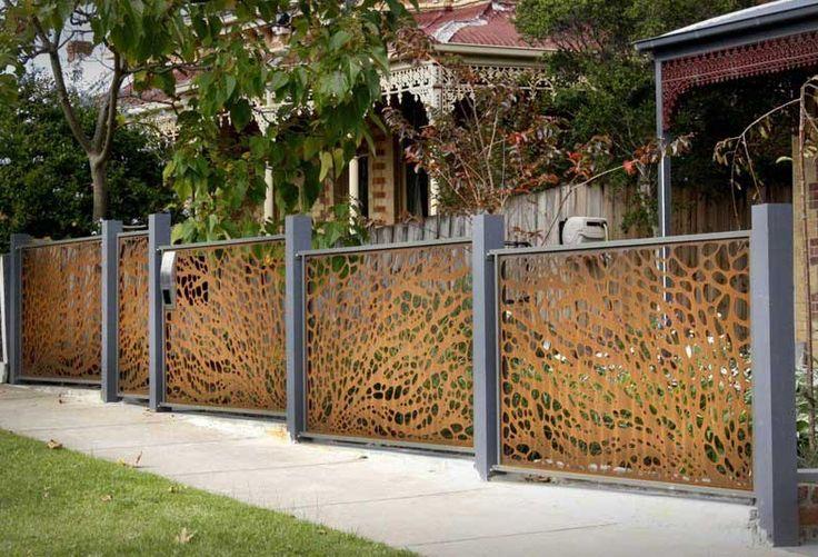 Wonderful design garden fence panels for home outdoor decoration ideas