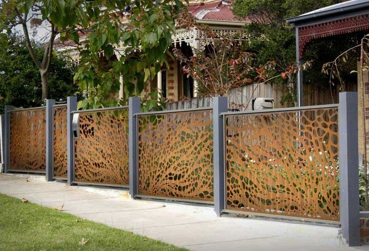 Wonderful design garden fence panels for home outdoor decoration ideas