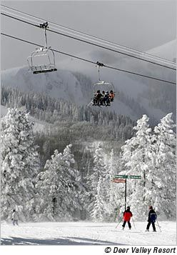 Deer Valley, Park City, Utah - rated one of top three ski resorts in North America by Ski Magazine