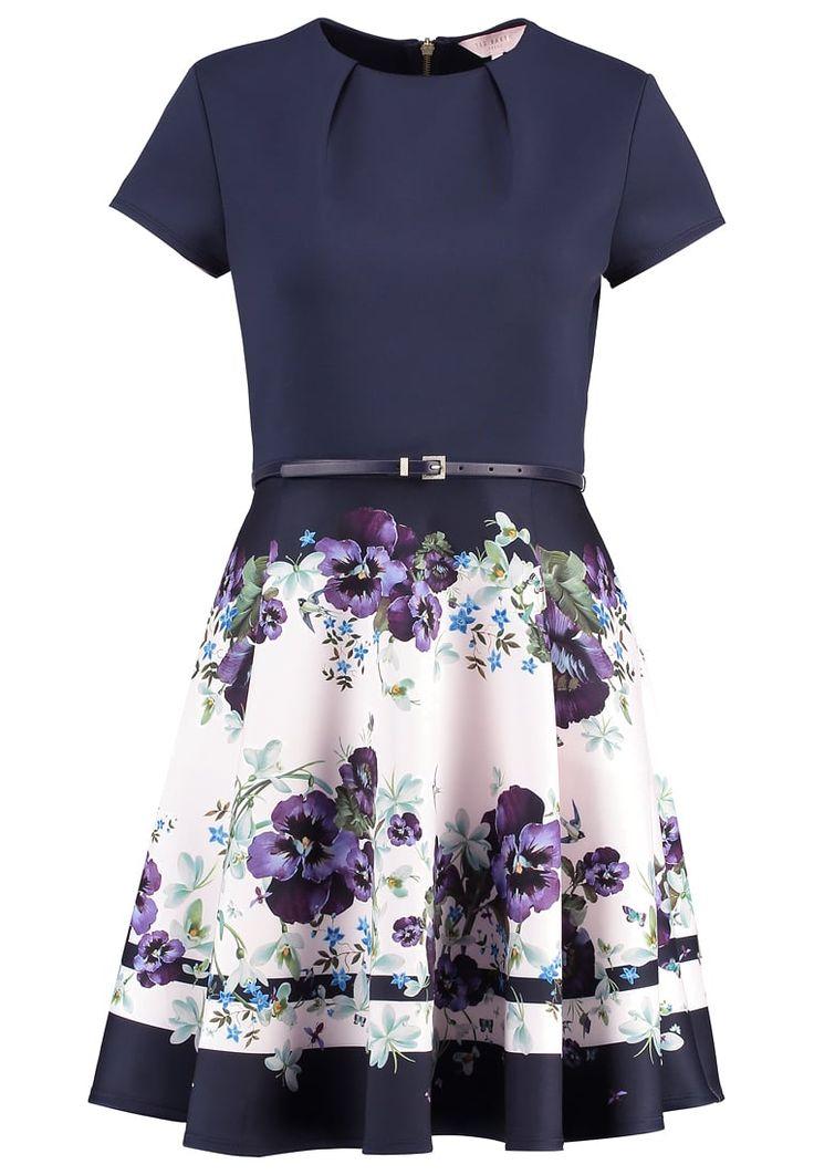 Premium Ted Baker STEFH - Korte jurk - dark blue Beige: € 194,95 Bij Zalando (op 16-3-17). Gratis bezorging & retournering, snelle levering en veilig betalen!