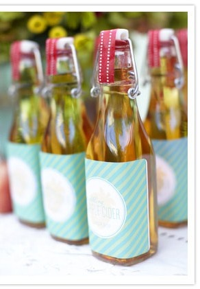 Le Cider Favors Hannah Loves Ash Could Make Labels In The Right Colors