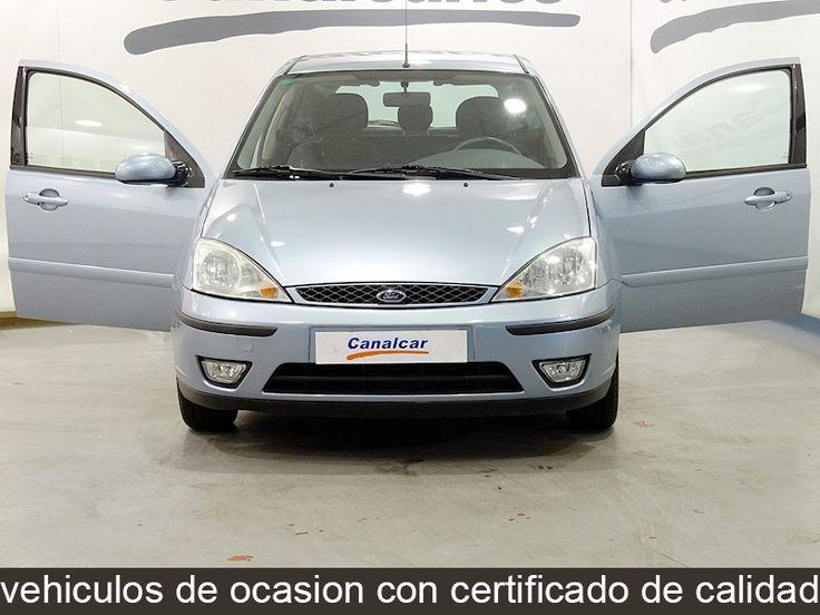 Ford Focus 1.6 Ghia de ocasion y segunda mano en concesionario Canalcar de Madrid ref: 3903