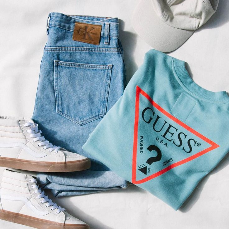 The GUESS Logo Crew-Neck Sweatshirt | Available only at Urban Outfitters #GUESSMen