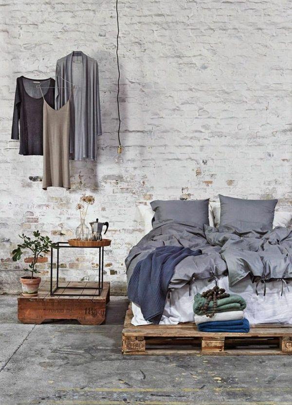 schlafzimmer möbel rustikale einrichtungsideen