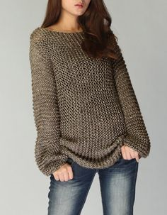 This is long version of my favorite little cover up sweater! It is stylelish and unique. I used high quality 100% super soft cotton chunky yarn in a nice Mocha color shade. The sleeve is extra long. More new colors are coming. Size: S(0-4) M(6-8)L(10-12)XL(12-14) Made to order, pls. allow me 2-3 weeks to knit. Hand wash in cold water and lay flat to dry. Pls. check the sweater section for more options: http://www.etsy.com/shop/MaxMelody?section_id=7175104 Design rights belong to Maxmelo...