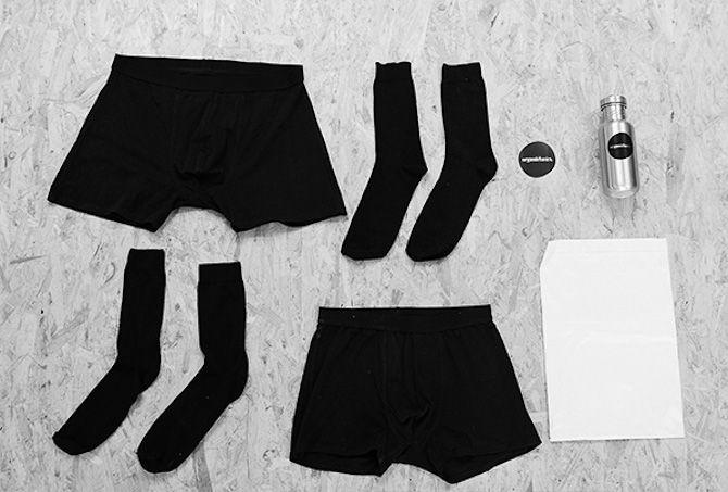 Organic underwear by Organic basics.