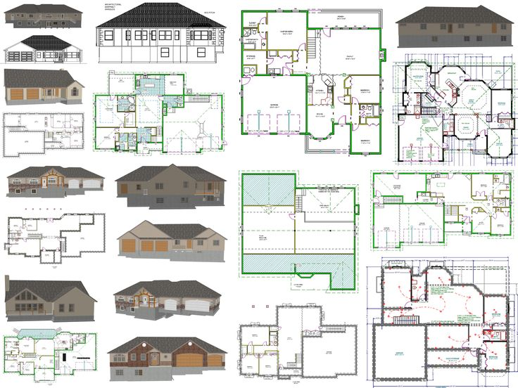 Best Duplex Plan Images On Pinterest Home Plans Duplex - Barn home plans blueprints