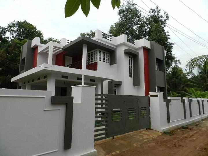 d719fa5b70606652e4eb689d994c9603  indian house designs model photos - Download Small House Exterior Wall Tiles Designs Indian Houses PNG