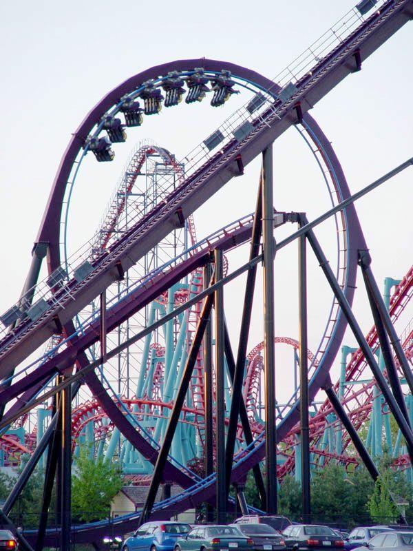Batman The Dark Knight, Six Flags New England, Agawam, Massachusetts