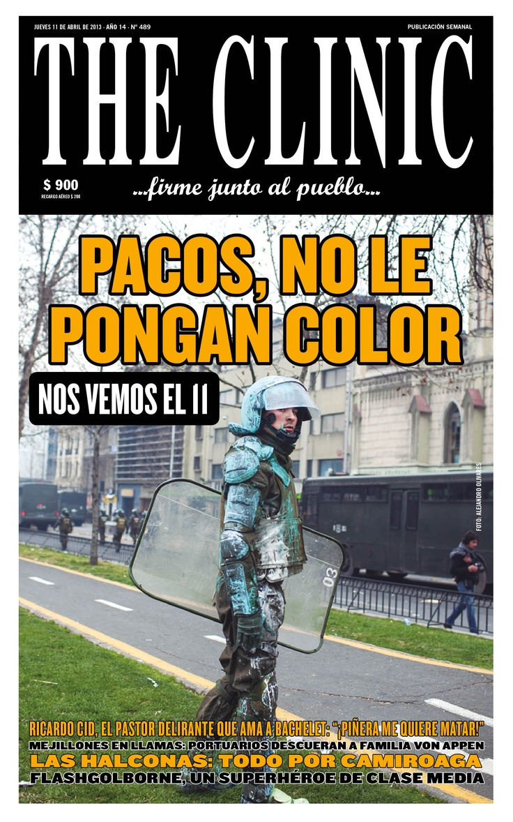 Pacos, no le pongan color xD #NosVemosEl11