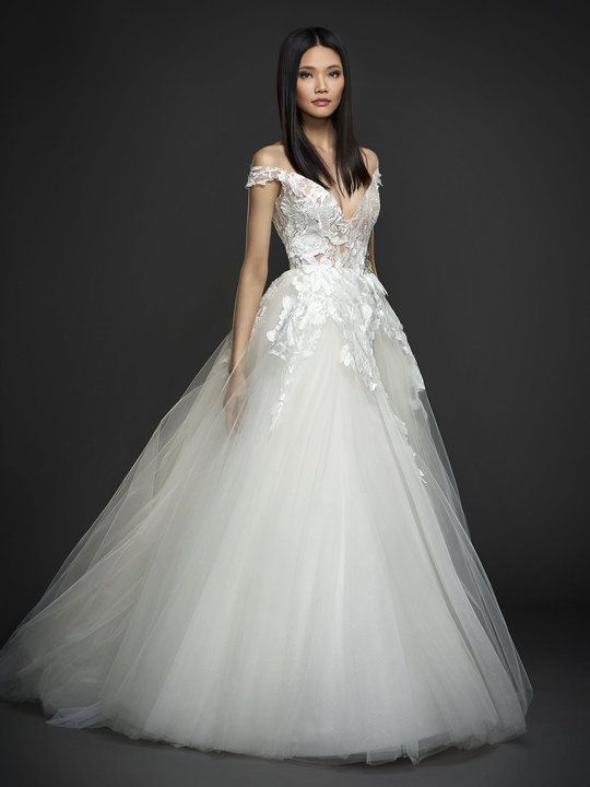 Lazaro may be found at Marcella's La Boutique and the Nordstrom Wedding Suite/Downtown Seattle.
