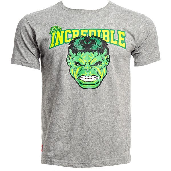 Marvel Comics College Incredible Hulk T Shirt, Avengers T Shirt UK (105 BRL) ❤ liked on Polyvore featuring tops, t-shirts, comic book, comic t shirts, cartoon character t shirts, blue top and cartoon t shirts
