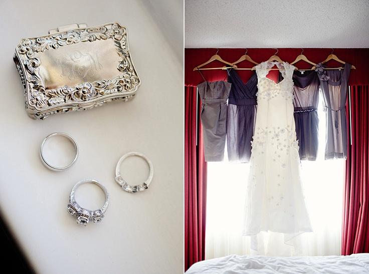 lambskin handbag love the bridesmaid dressing hanging  Photography Idea