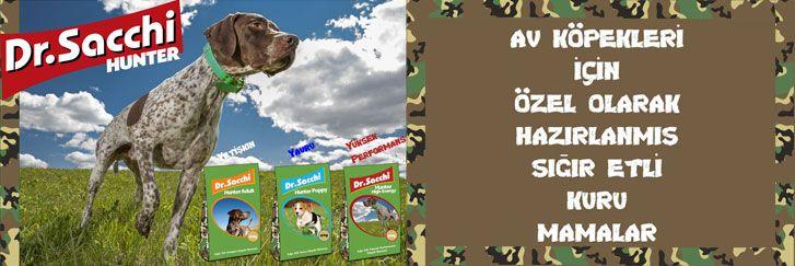 petburada.com | Dr. Sacchi Av Köpekleri için özel köpek mamaları