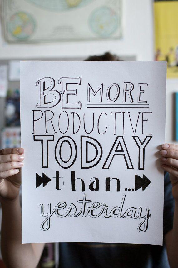 Motivational Hand drawn Poster