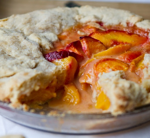 ... -peach-pie   Recipes to try   Pinterest   Summer, Videos and Peaches