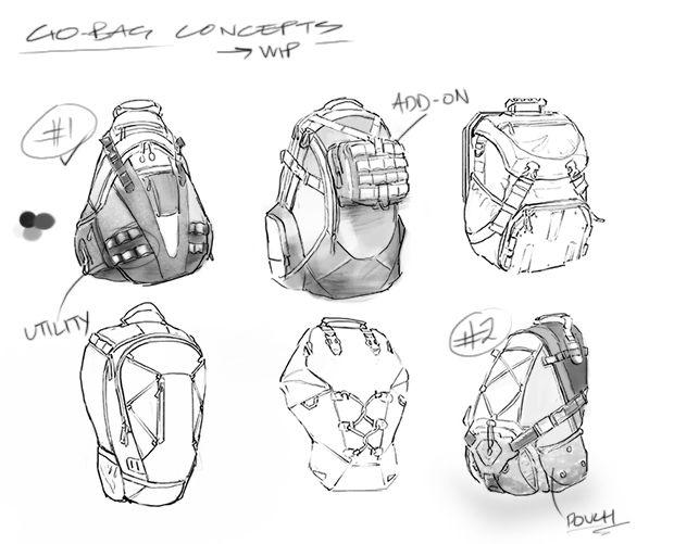 Tom Clancy the Division Go-Bag Concept Art