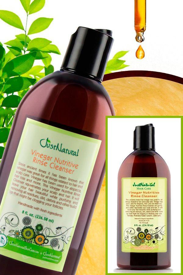 Vinegar Nutritive Rinse Cleanser   Thin Hair - Grow New Hair   Just Nutritive