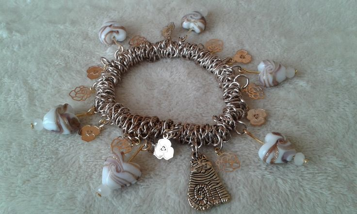 Here is a bracelet, I do not make them often and usually only by request
