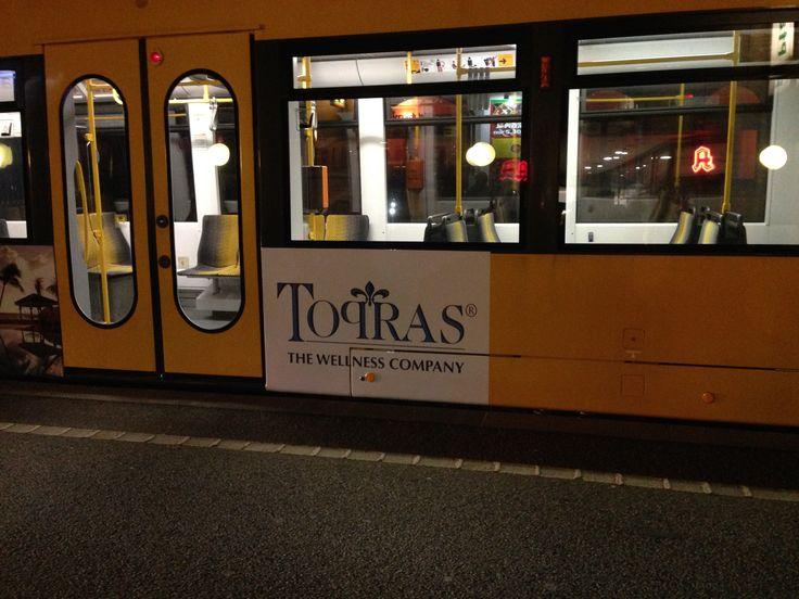 Stadtrundfahrt durch Dresden mit einer eigenen Straßenbahn.