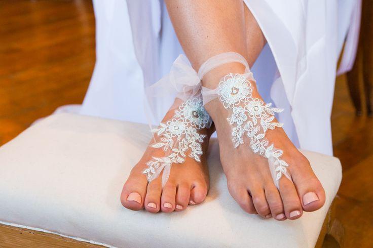 fine lace couture for bridal feet - designed & handmade by Juliet Design - www.juliet-design.de