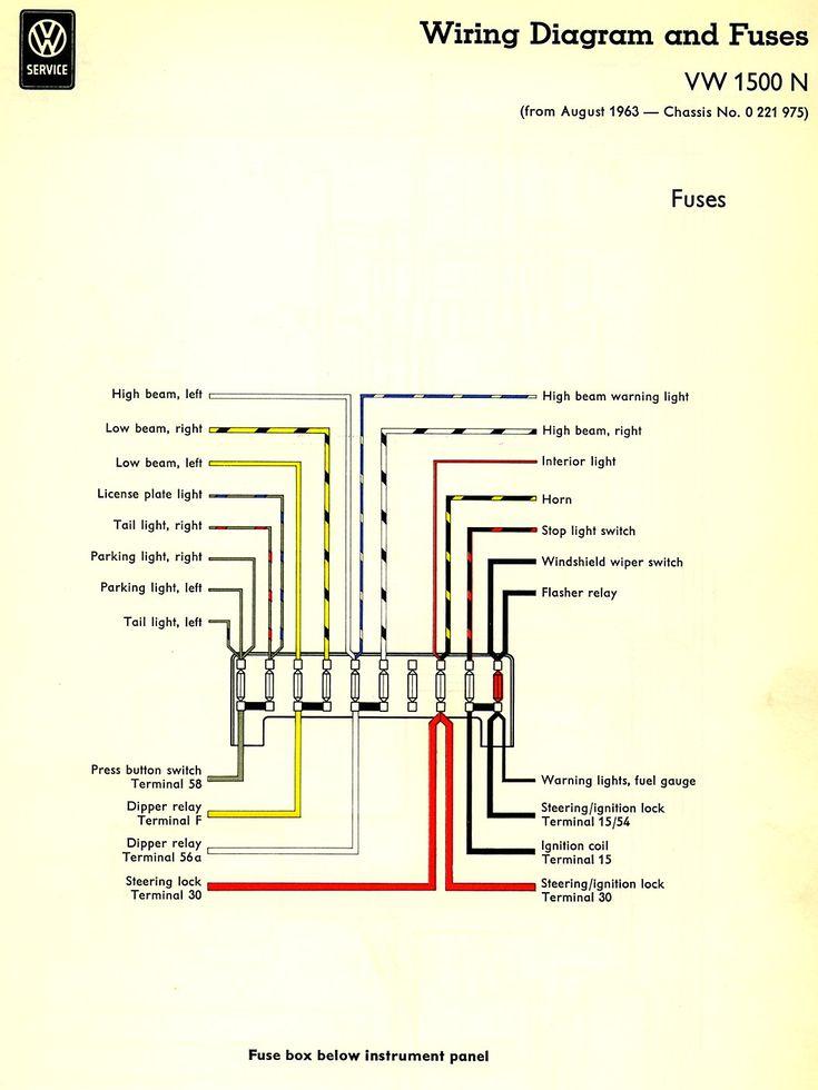 Thesambacom Type 3 Wiring Diagrams  Thesamba Type 3 Wiring