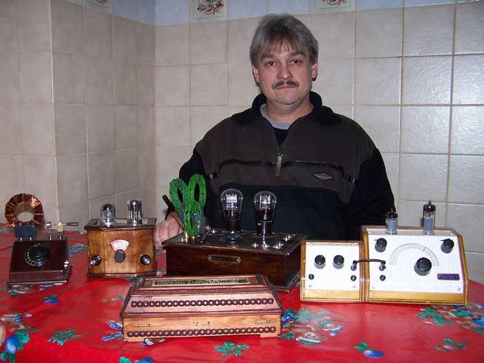 Sarg-Radio zur Erinnerung an den Sender Königs Wusterhausen, von Peter Karpowski