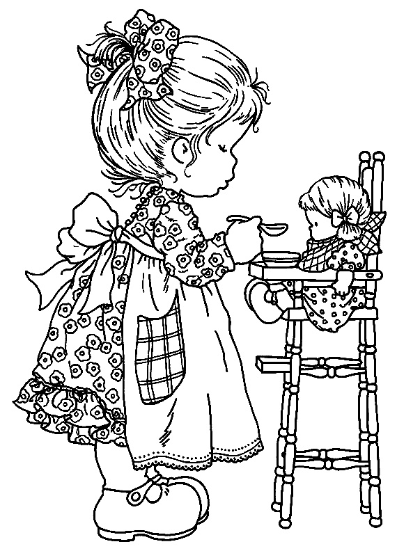 Cute colouring pages to print at home