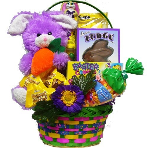 66 best gift baskets ideas images on pinterest gifts basket traditional filled easter baskets easterholiday candy bunny negle Image collections