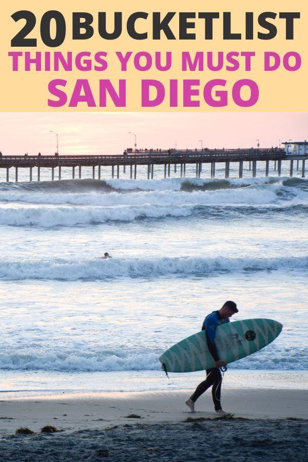 20 Epic San Diego Bucket List Items