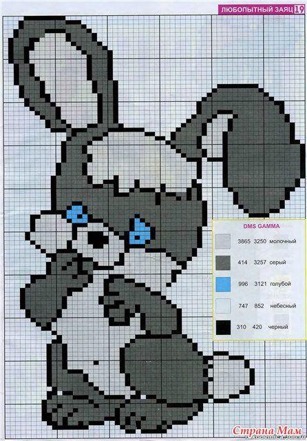 Свитерок с зайкой + еще много схем для вязания детских мзделий с орнаментом. Обсуждение на LiveInternet - Российский Сервис Онлайн-Дневников