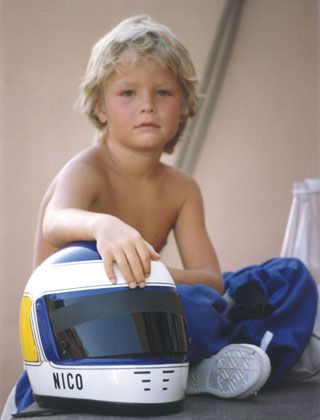 A young Nico Rosberg