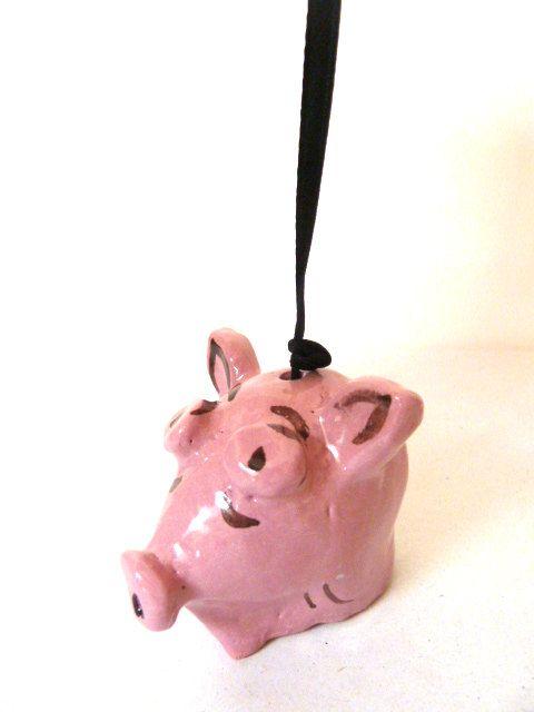Maialino campanella. di LabLiu su Etsy, €17.00