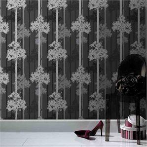 Superfresco Easy 52cm x 10m Black And Grey Nottingham Wallpaper  Bunnings