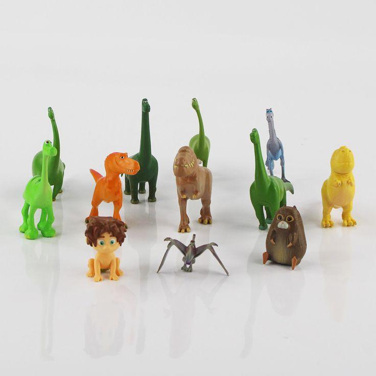 12Pcs/lot 3-7cm The Good Dinosaur Mini PVC Figures Toys for Children Kids Toy  #Affiliate