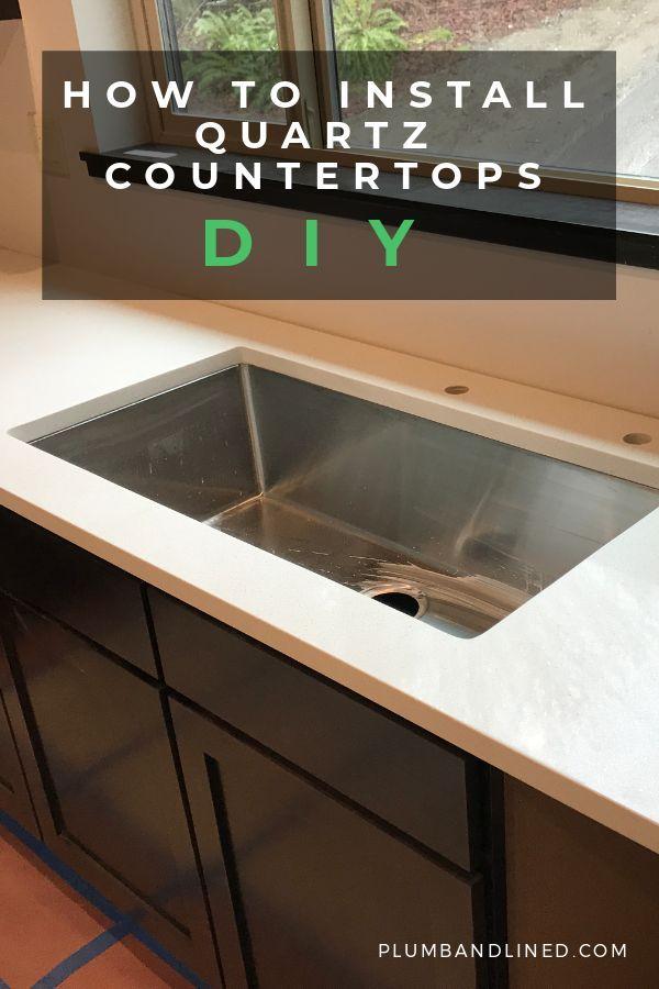 How To Install Quartz Countertops Kitchen Diy
