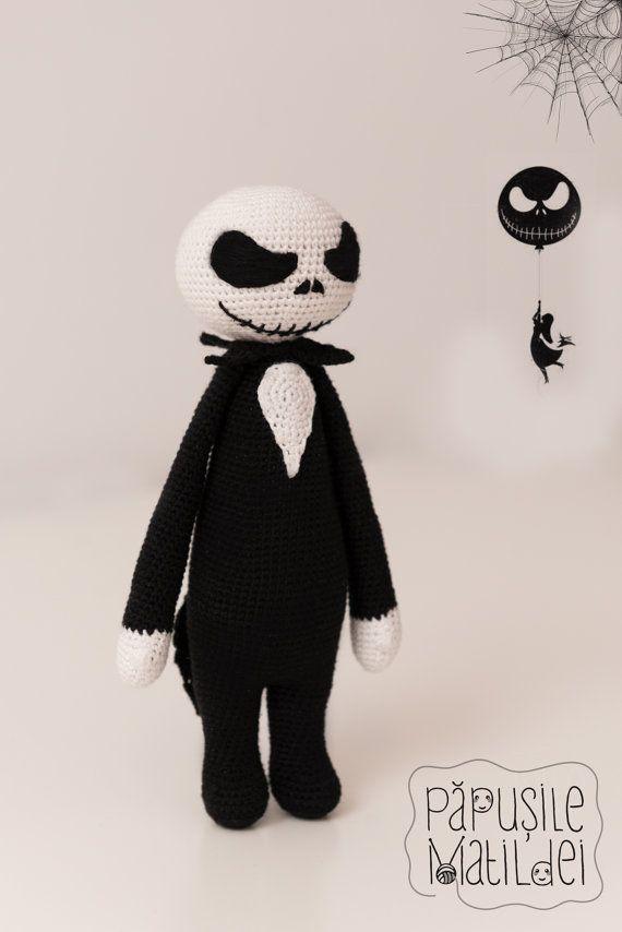 Jack Skellington crochet doll                                                                                                                                                     More