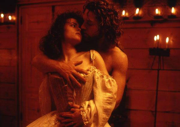 K.Branagh and H.Bonham Carter in Mary Shelley's Frankenstein