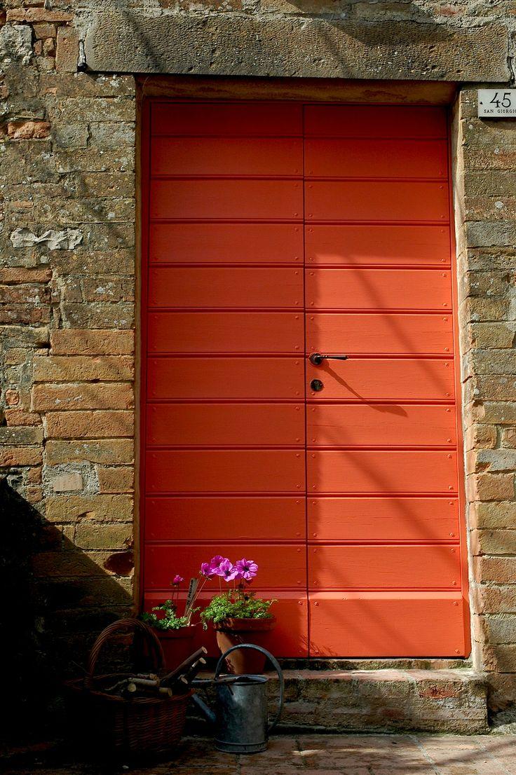 color me happy - is that one a happy door...