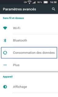Doro Liberto 822 : activer ou désactiver le trafic des données data en France - Assistance Orange