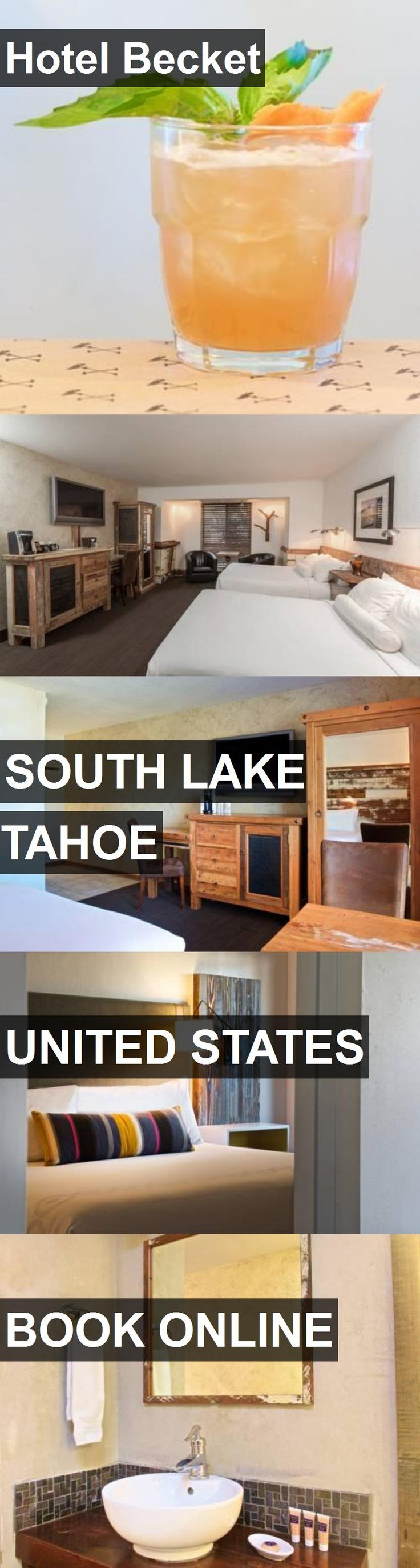 Hotel Becket in South Lake Tahoe, United States. For more information, photos, reviews and best prices please follow the link. #UnitedStates #SouthLakeTahoe #travel #vacation #hotel