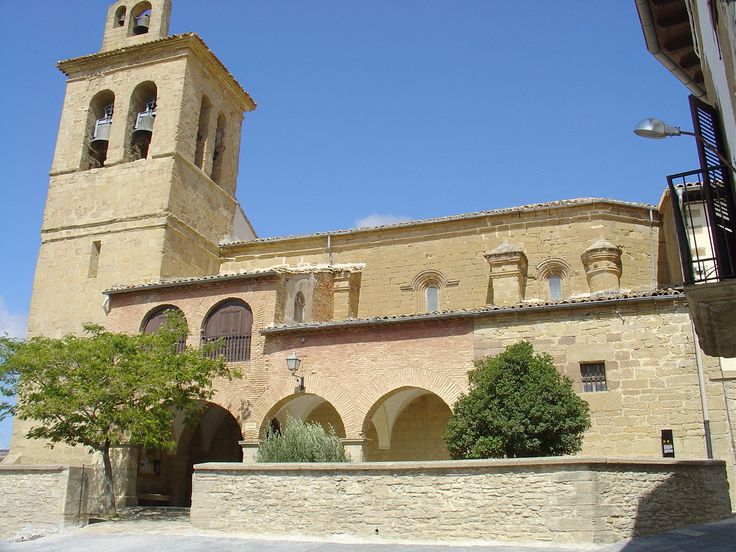 Iglesia de La Asunción, Uterga, Navarra, Camino de Santiago