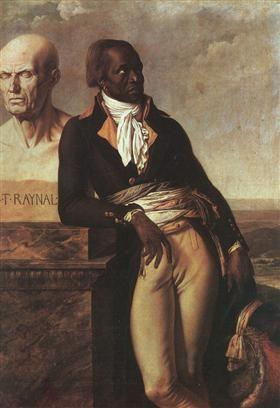 Portrait of Jean-Baptiste Belley - Anne-Louis Girodet