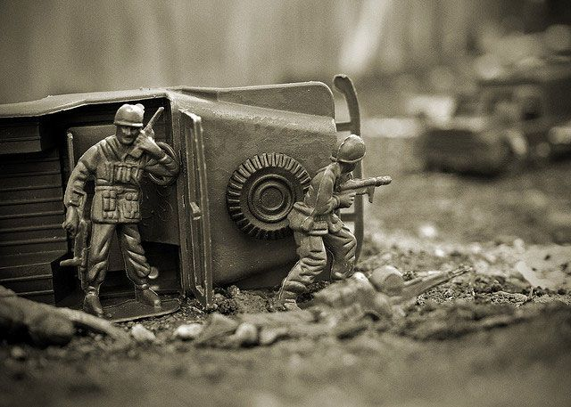 Cool Toy Army Men : Cool examples of toy photography best and