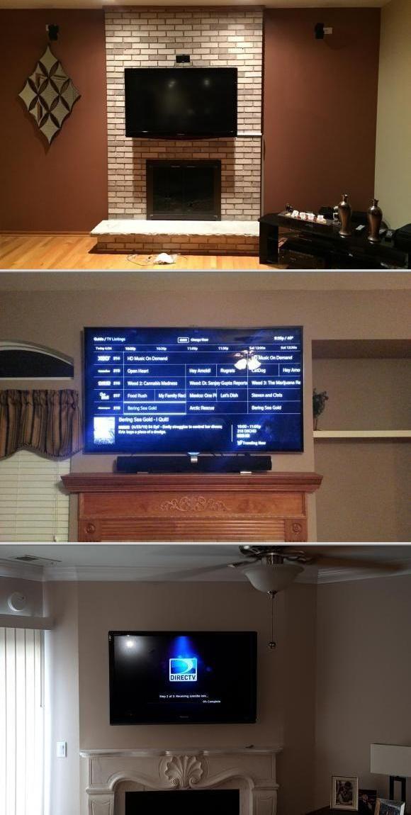 Best 25 Tv Installation Ideas On Pinterest Television