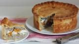 BBC Food - Recipes - Spiced pork pie with cranberries